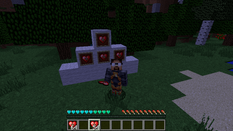 Scaling Health mod for minecraft 01
