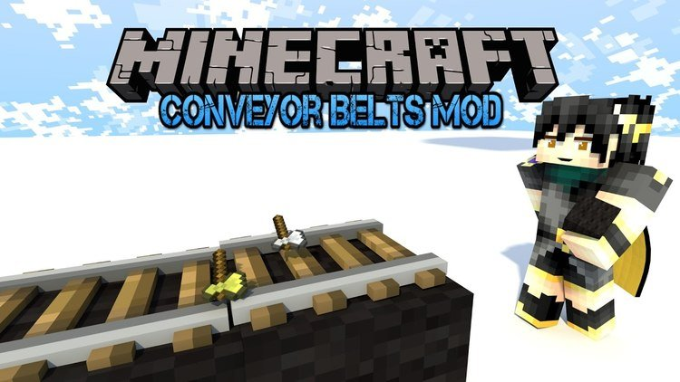 Simply Conveyors & More mod for Minecraft Logo