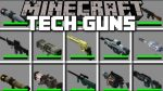 Techguns Mod for Minecraft Logo