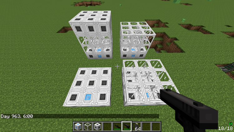 Tech guns Mod for minecraft 5