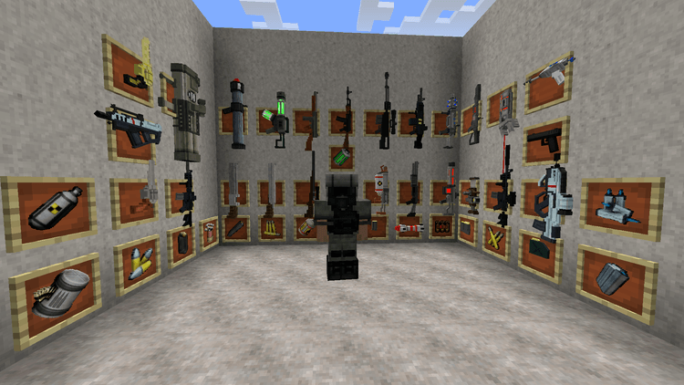 Techguns Mod for minecraft 7