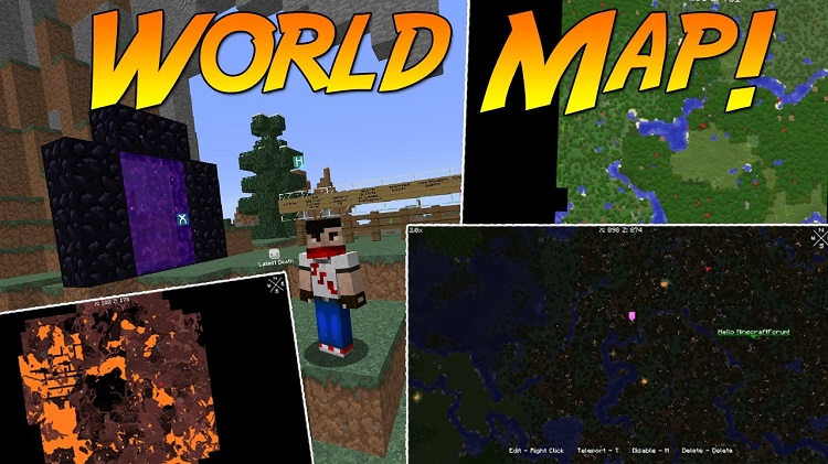 Xaero's world map Mod for Minecraft Logo