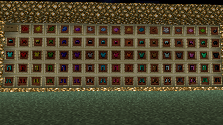 colorful armor mod for minecraft 1