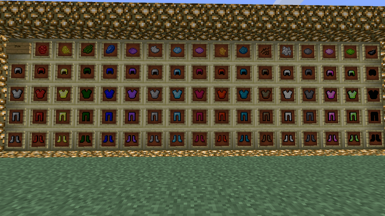 colorful armor mod for minecraft 2