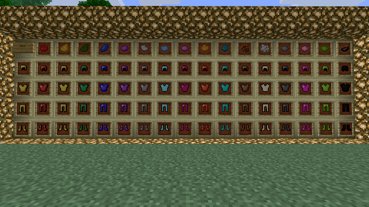 colorful armor mod for minecraft 4