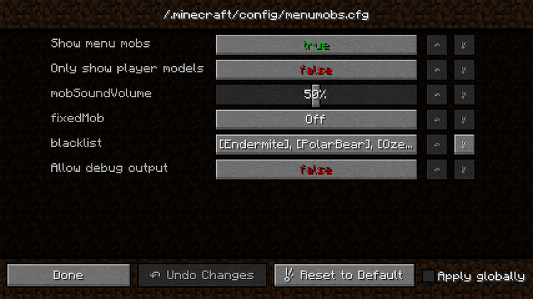 menumobs mod for minecraft 02