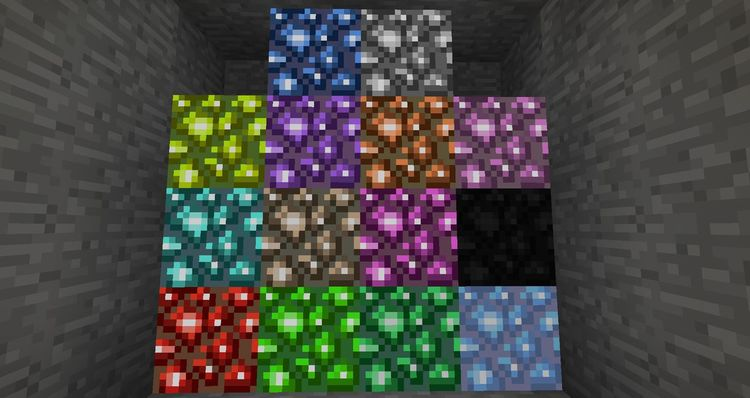 Mo' Glowstone mod for minecraft 01