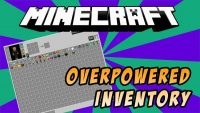 overpowered inventory mod for minecraft logo