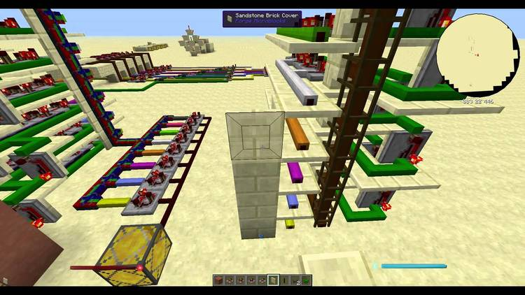Project Red - Integration mod for minecraft 01