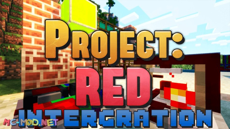 Project Red - Intergation mod for minecraft logo