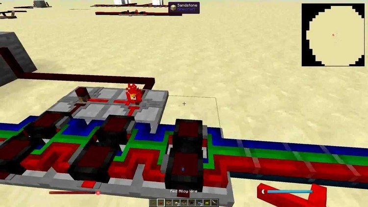 project red - lighting mod for minecraft 03