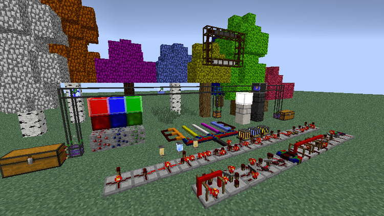 project red - lighting mod for minecraft 04