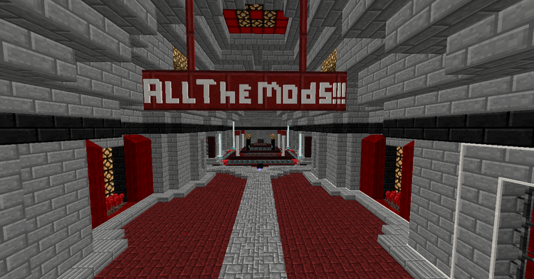 All The Mods modpack for minecraft 01