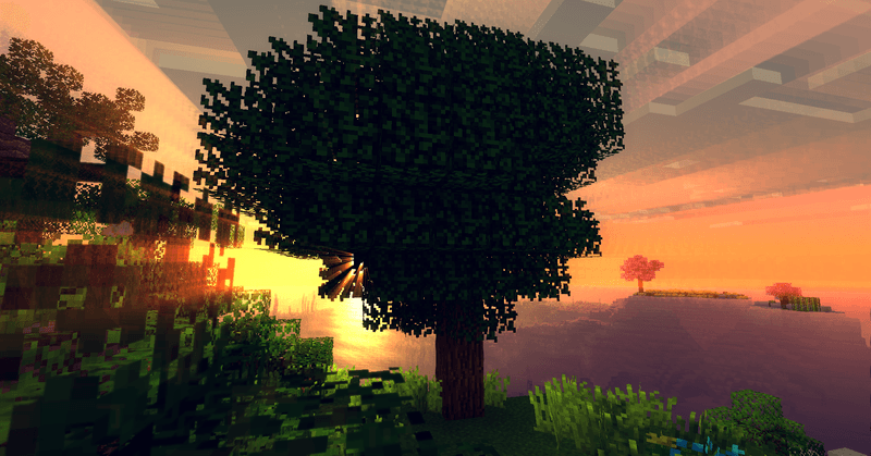 Ancient Trees L mod for minecraft 1