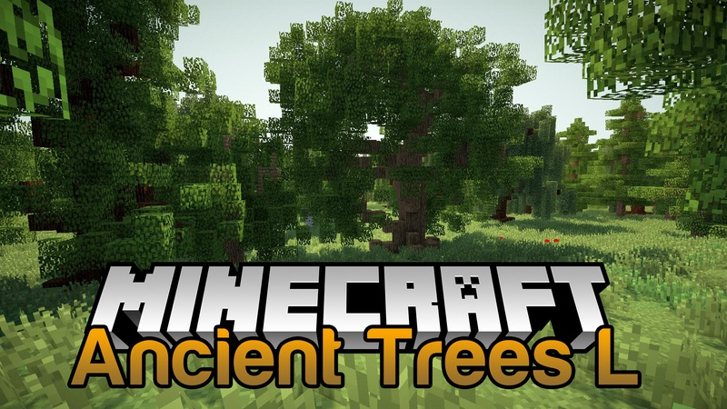 Ancient Trees L mod for minecraft Logo