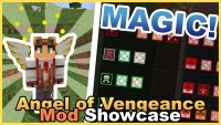 Angel of Vengeance Mod Minecraft Logo