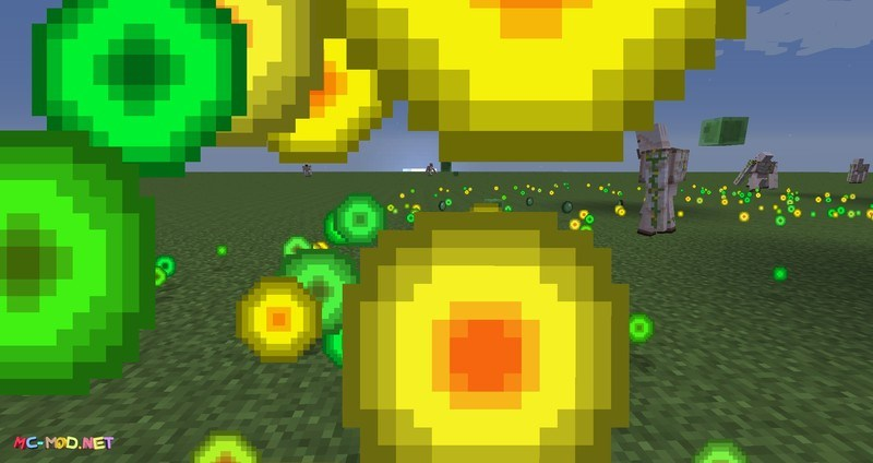 Clumps mod for minecraft 05