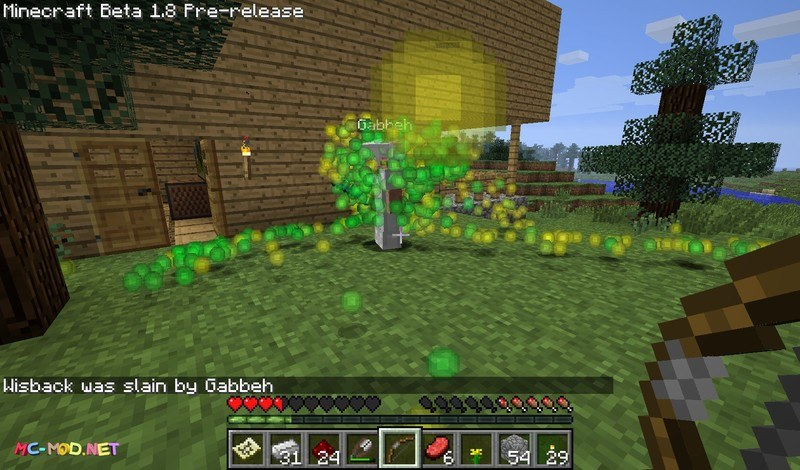 Clumps mod for minecraft 06