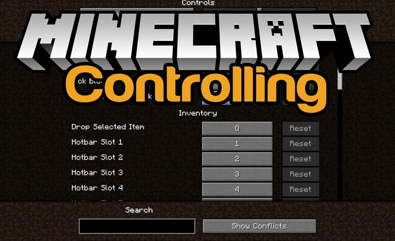 Controlling Mod for Minecraft logo