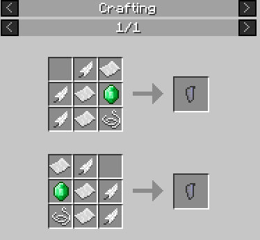 Craftable Elytra mod for minecraft 03