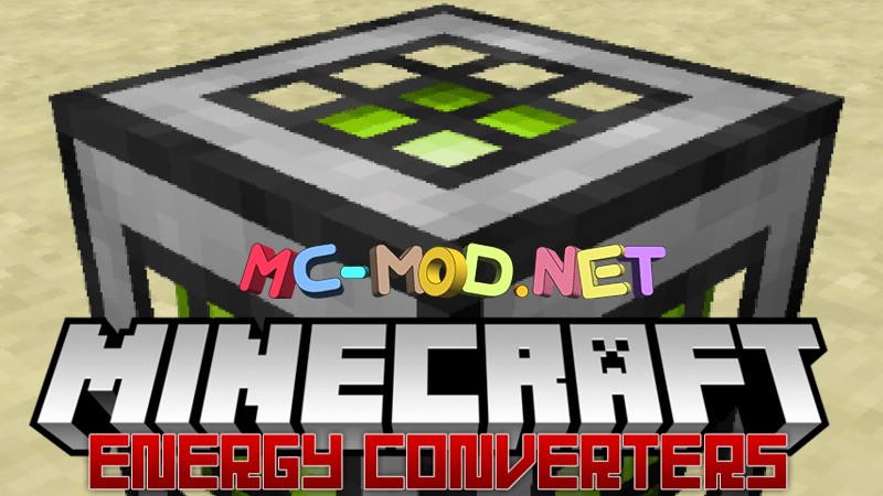Energy converters mod for minecraft logo