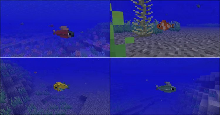 Just a Few Fish Mod for minecraft 1