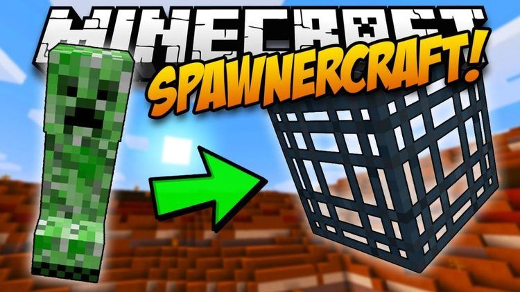 Spawner Craft mod for minecraft logo