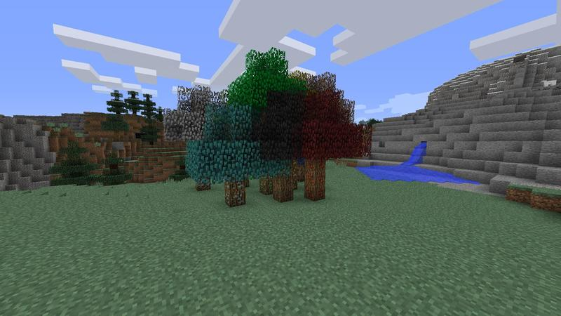 TreeOres Mod for Minecraft 3