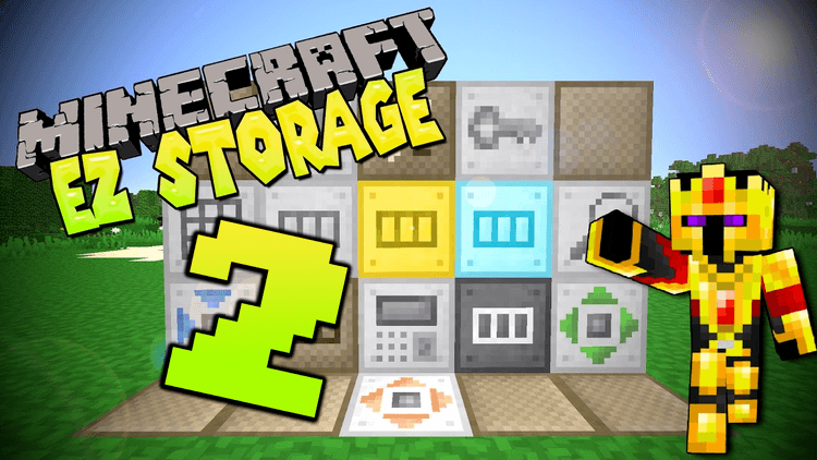 ez storage 2 mod for minecraft LOGO
