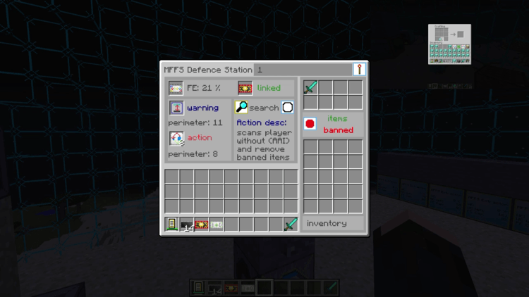 modular force field systems mod for minecraft 1