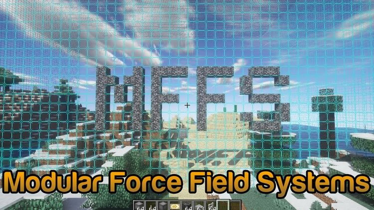 modular force field systems mod for minecraft logo