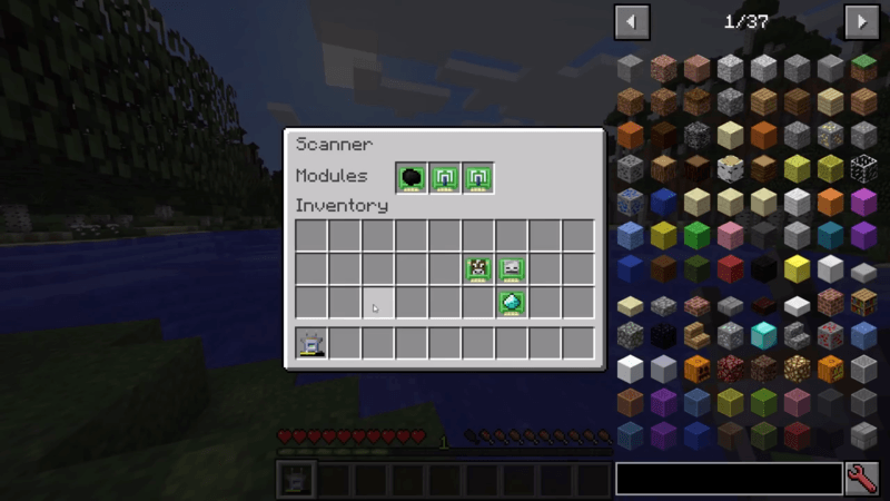 scannable mod for minecraft 4