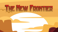 the new frontier modpack for minecraft logo