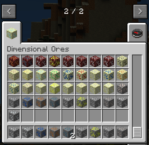 Dimensional Ores Mod for minecraft 3