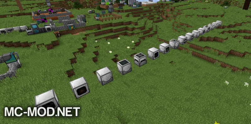 Industrial Foregoing mod for minecraft 02