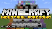 Industrial Foregoing mod for minecraft logo