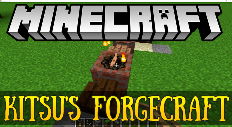Kitsus Forgecraft mod for minecraft logo