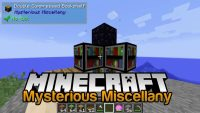 Mysterious Miscellany Mod for minecraft logo