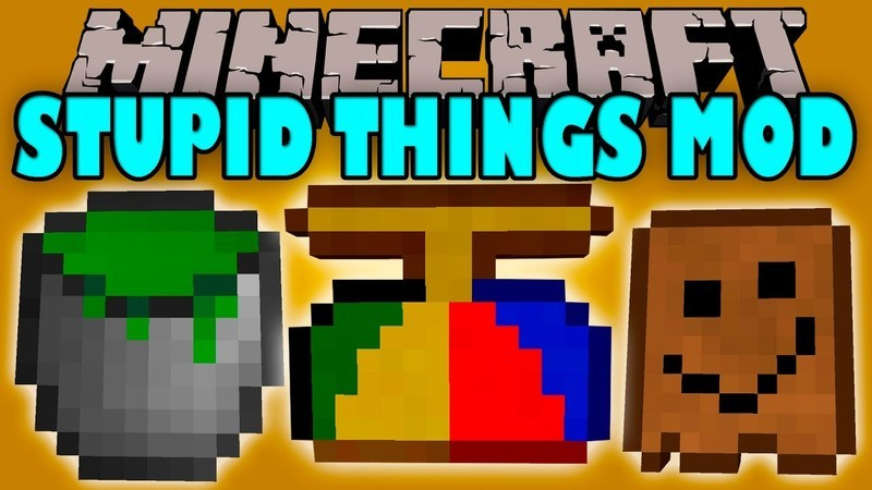 Stupid Things Mod for Minecraft logo