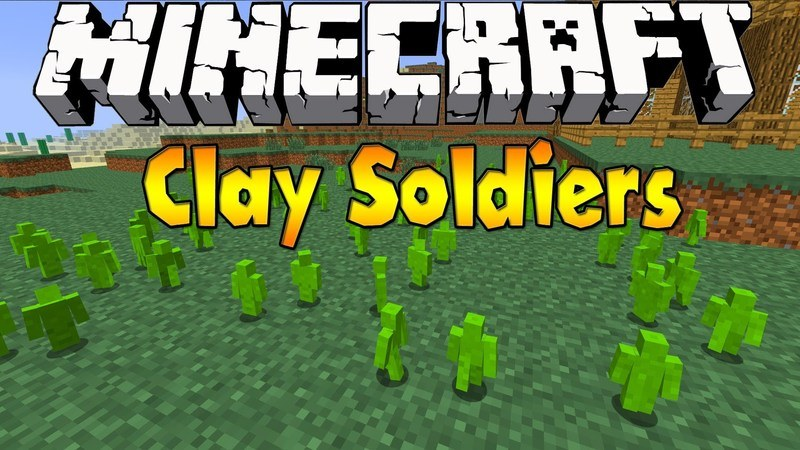 minecraft clay soldiers wars