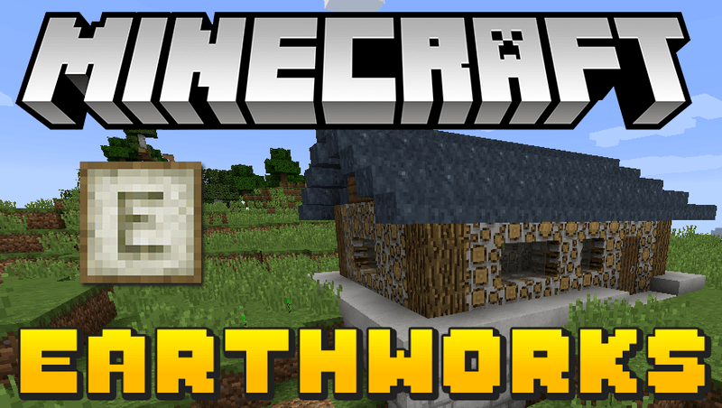 earthworks mod for minecraft logo