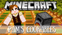pams cookables mod for minecraft logo