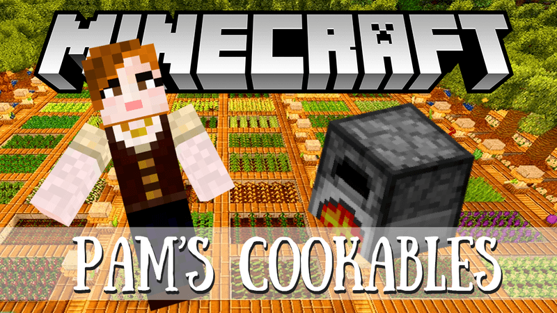 Pam's Cookables mod for minecraft logo