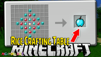 rice crafting table mod for minecraft logo