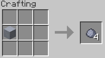 Blocks To Items Mod for minecraft 3