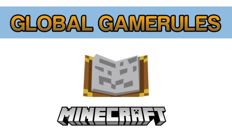Global GameRules Mod for Minecraft Logo