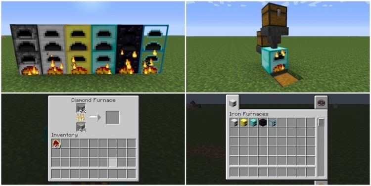 Iron Furnaces Mod for Minecraft 1