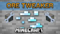 Ore Tweaker Mod for Minecraft Logo