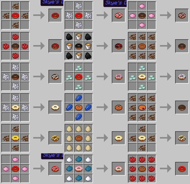 Skyes Donuts Mod for Minecraft 5