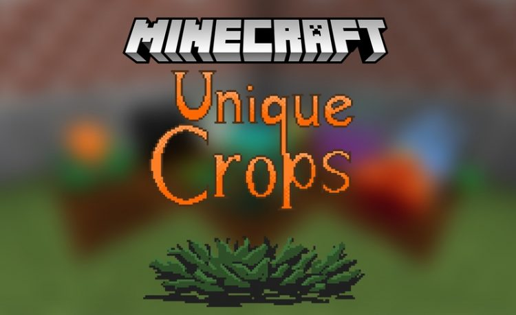 Unique Crops Mod for Minecraft Logo